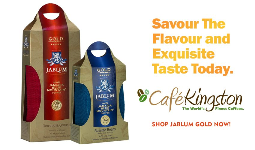 Savor the flavor and exquisite taste of JABLUM Gold Ultra-Premium Jamaica Blue Mountain Coffee today.
